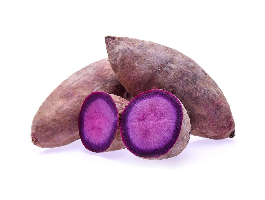 Purple Sweet Potato Cakes